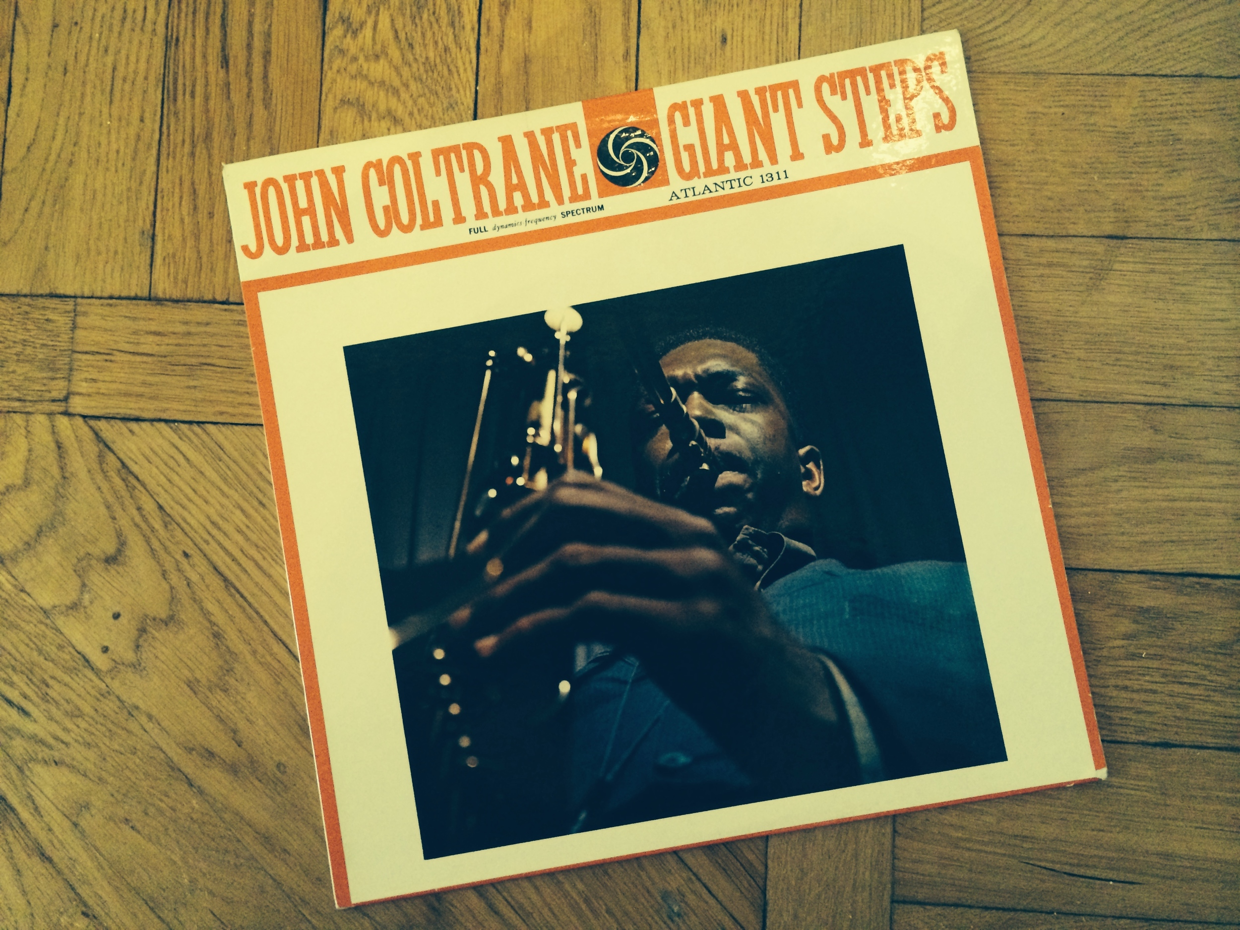 "John Coltrane's masterpiece ""Giant Steps"" on Atlantic 1311"
