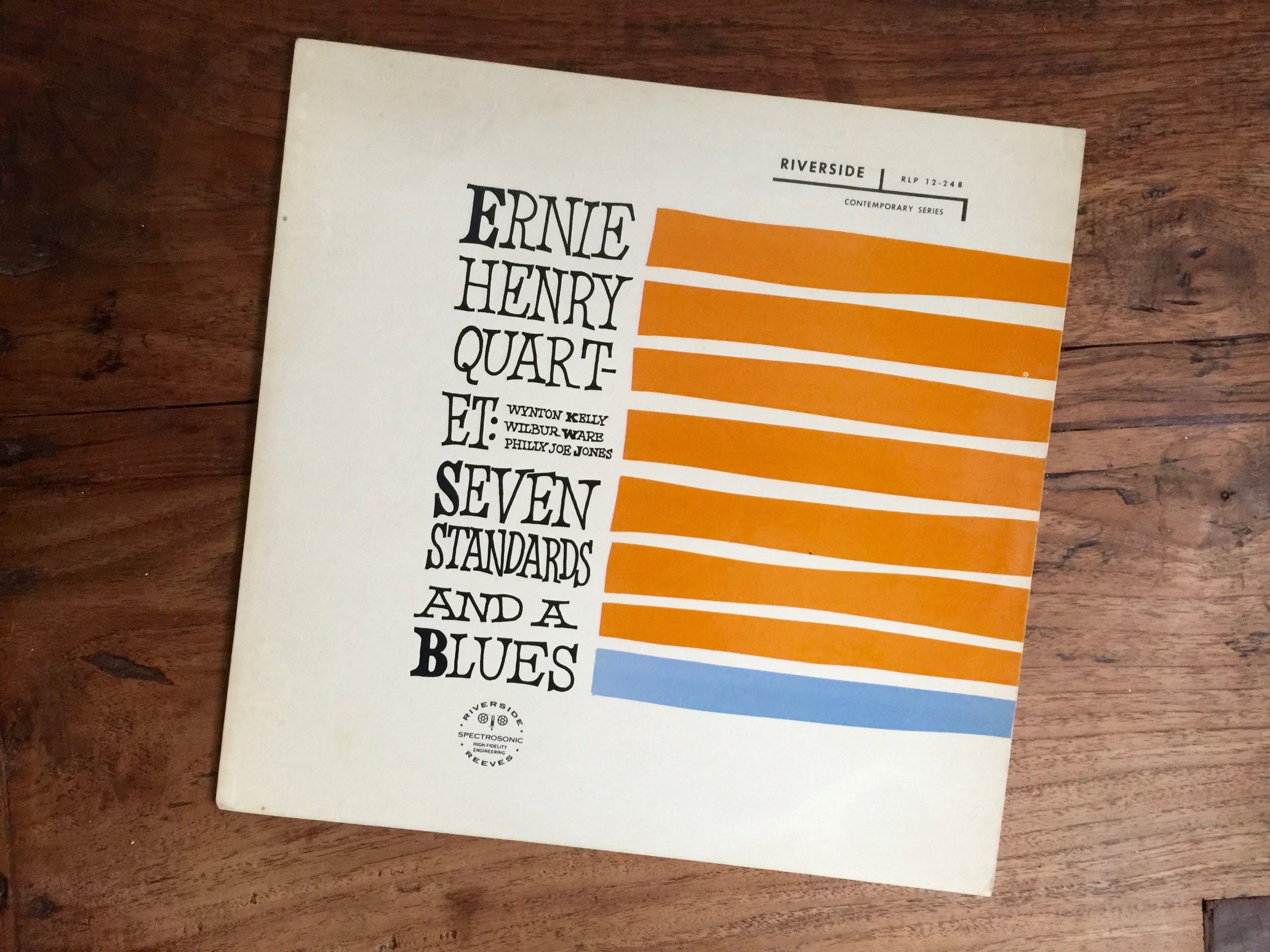 Another Ernie Henry masterpiece... he had a sound of his own.