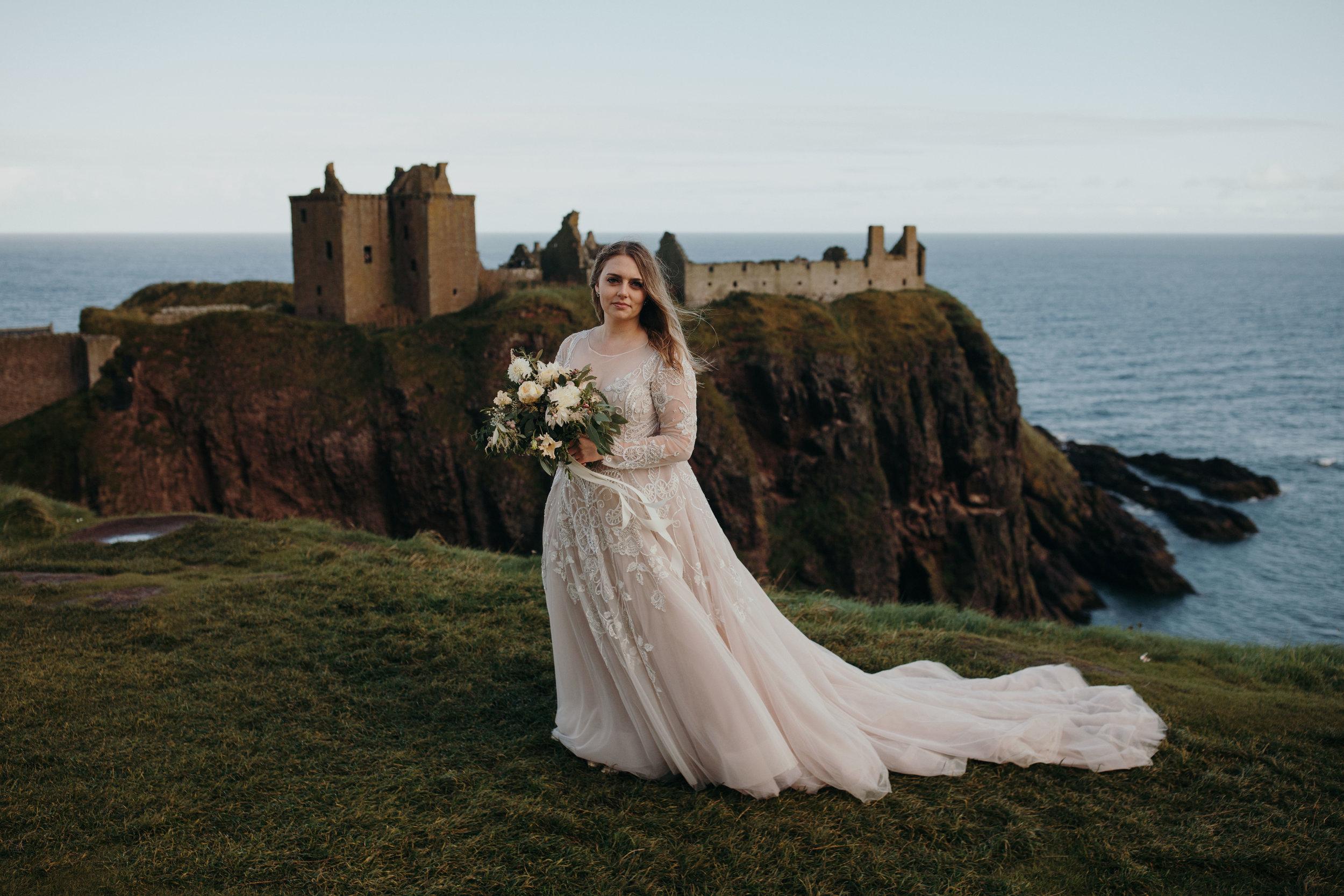 Dunnottar castle destination wedding