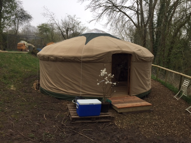 Outside the yurt......saving the wonders of the inside for the full shoot pics...You'll just have to wait!