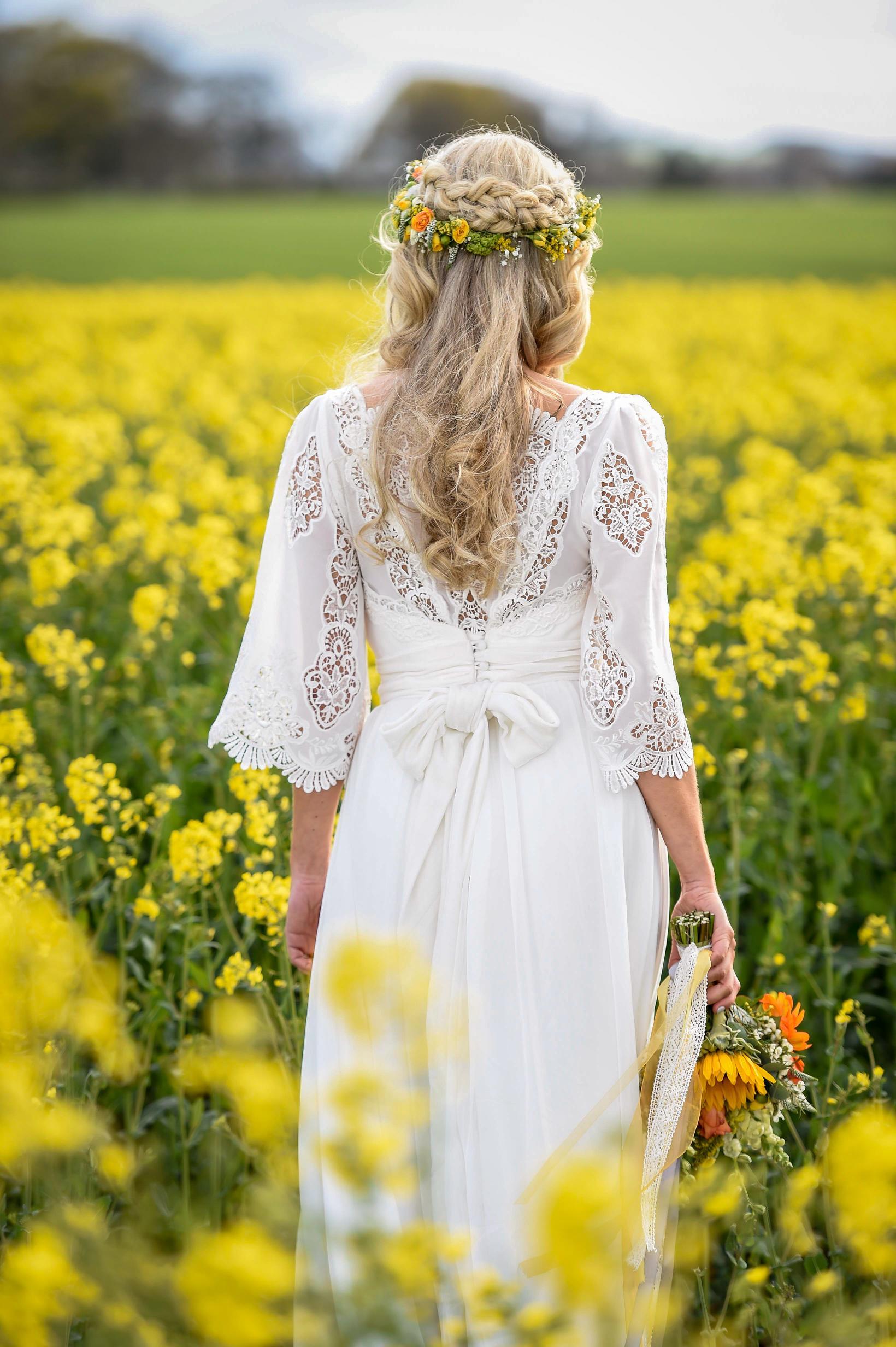 Bespoke bridal design by Jennifer Bone -