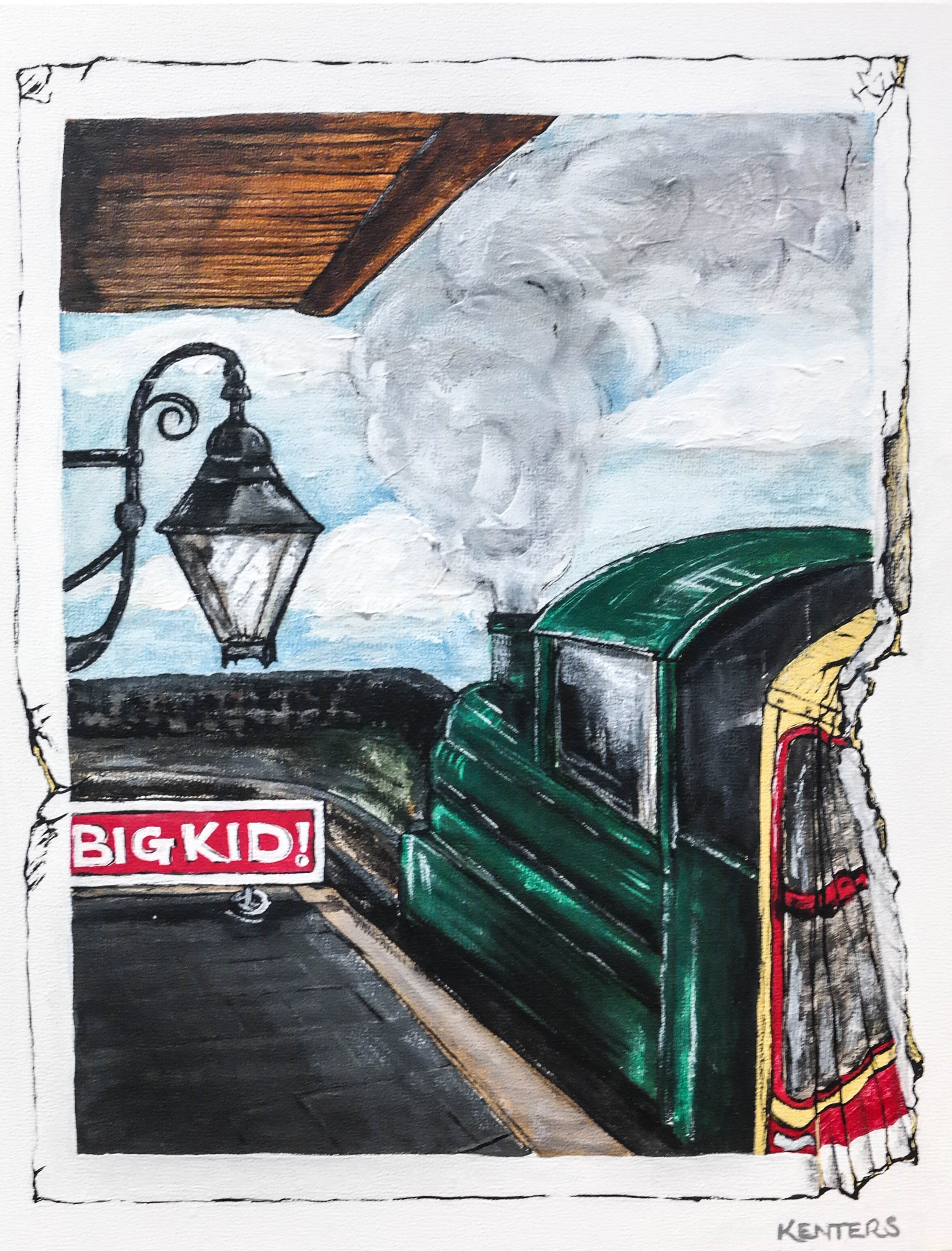 Rules of Adulthood on a Postcard: Never too old for Steam Trains