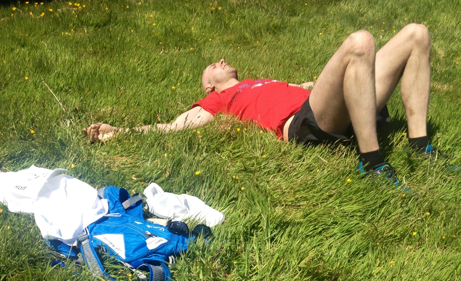 Running ultras is tiring
