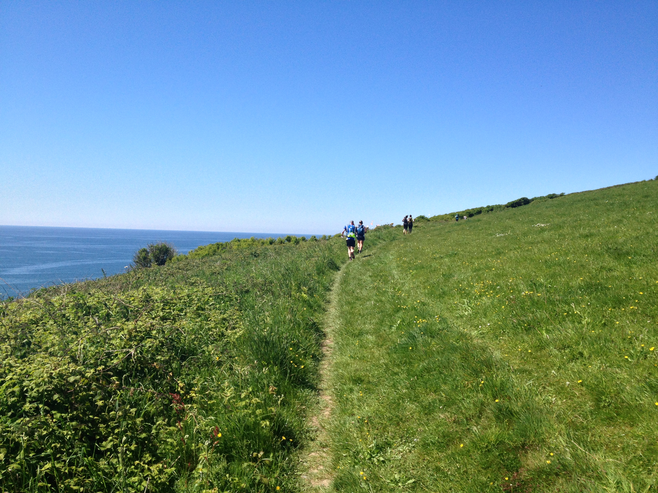 Not all my long runs take place in sunny Devon