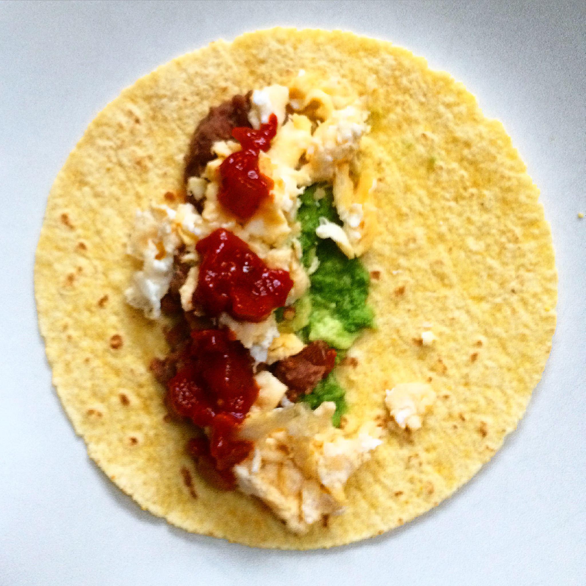 Breakfast burrito. Mmm.
