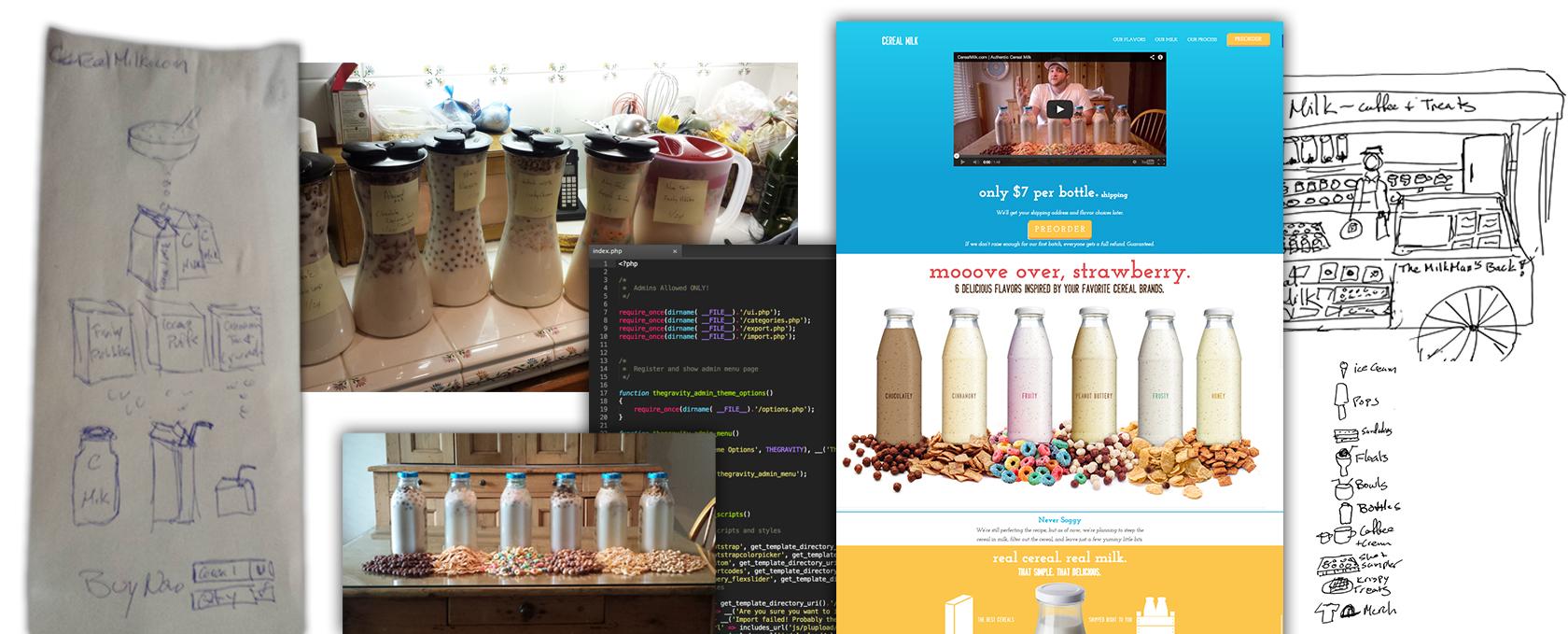 Cereal Milk Assembly Line Jam Studios