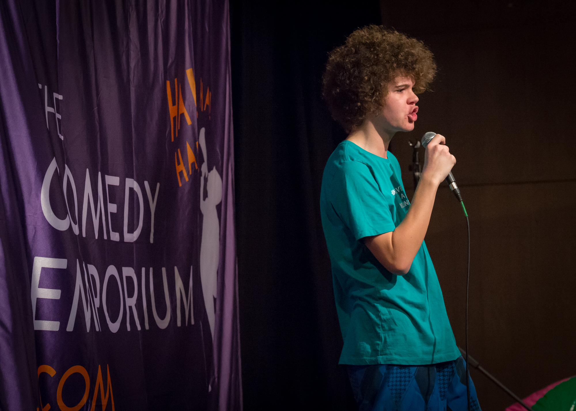 Jackson Canny performs at The Comedy Emporium's 2015 Beach Party Show