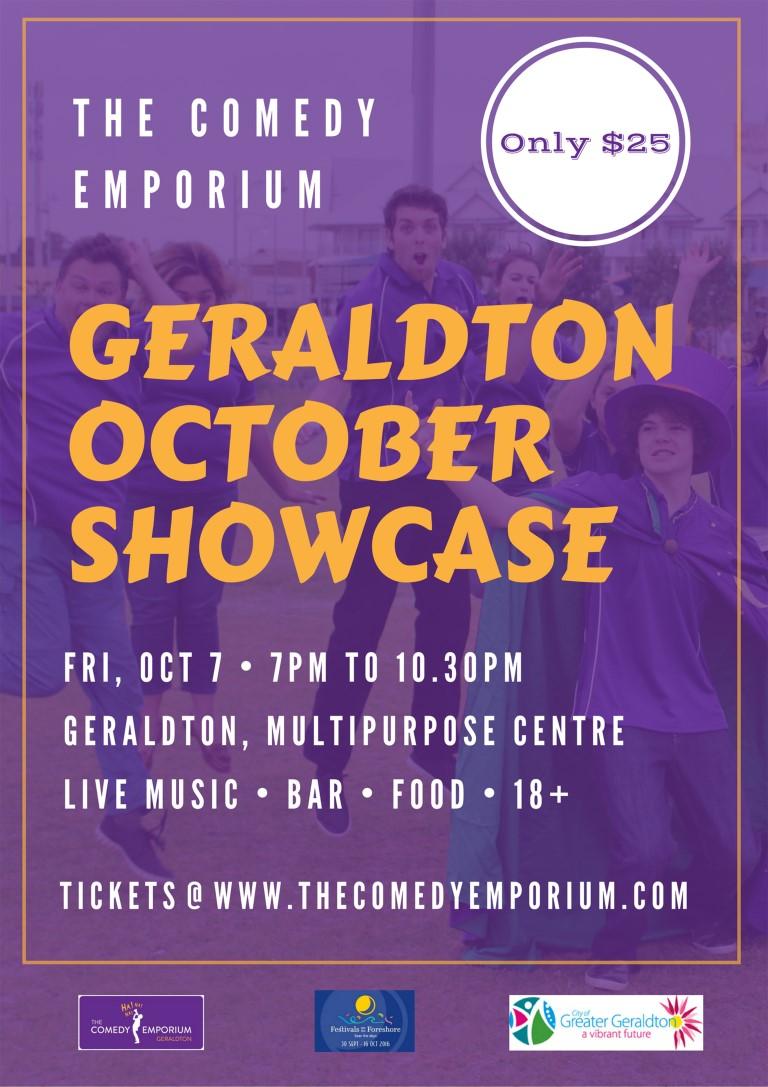 The Comedy Emporium Geraldton October Showcase