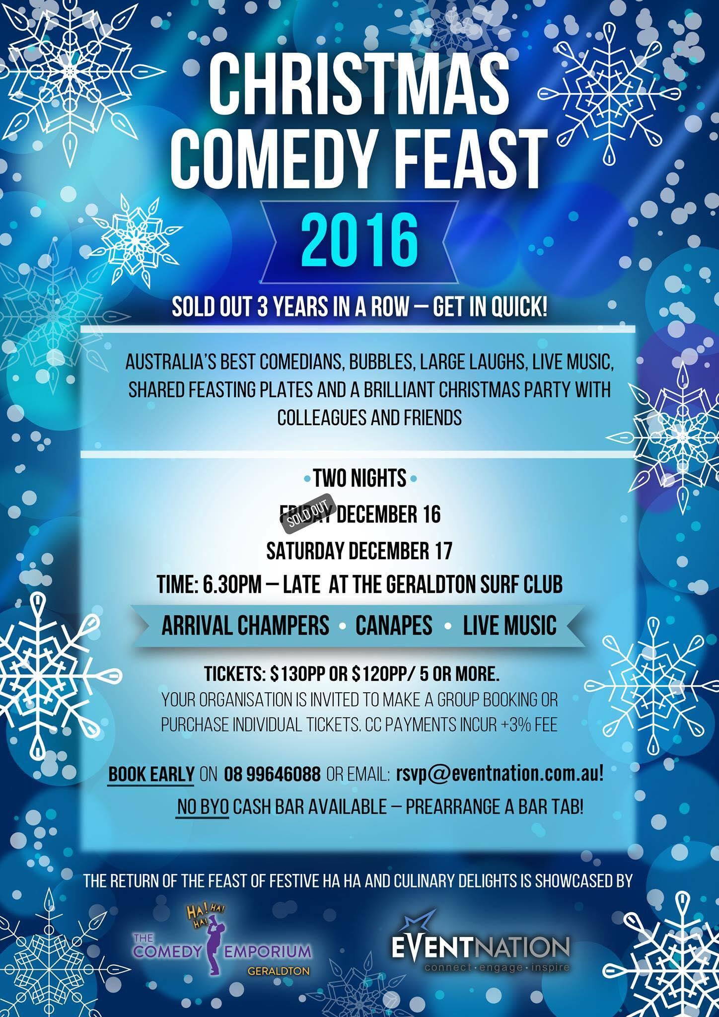 Christmas Comedy Feast