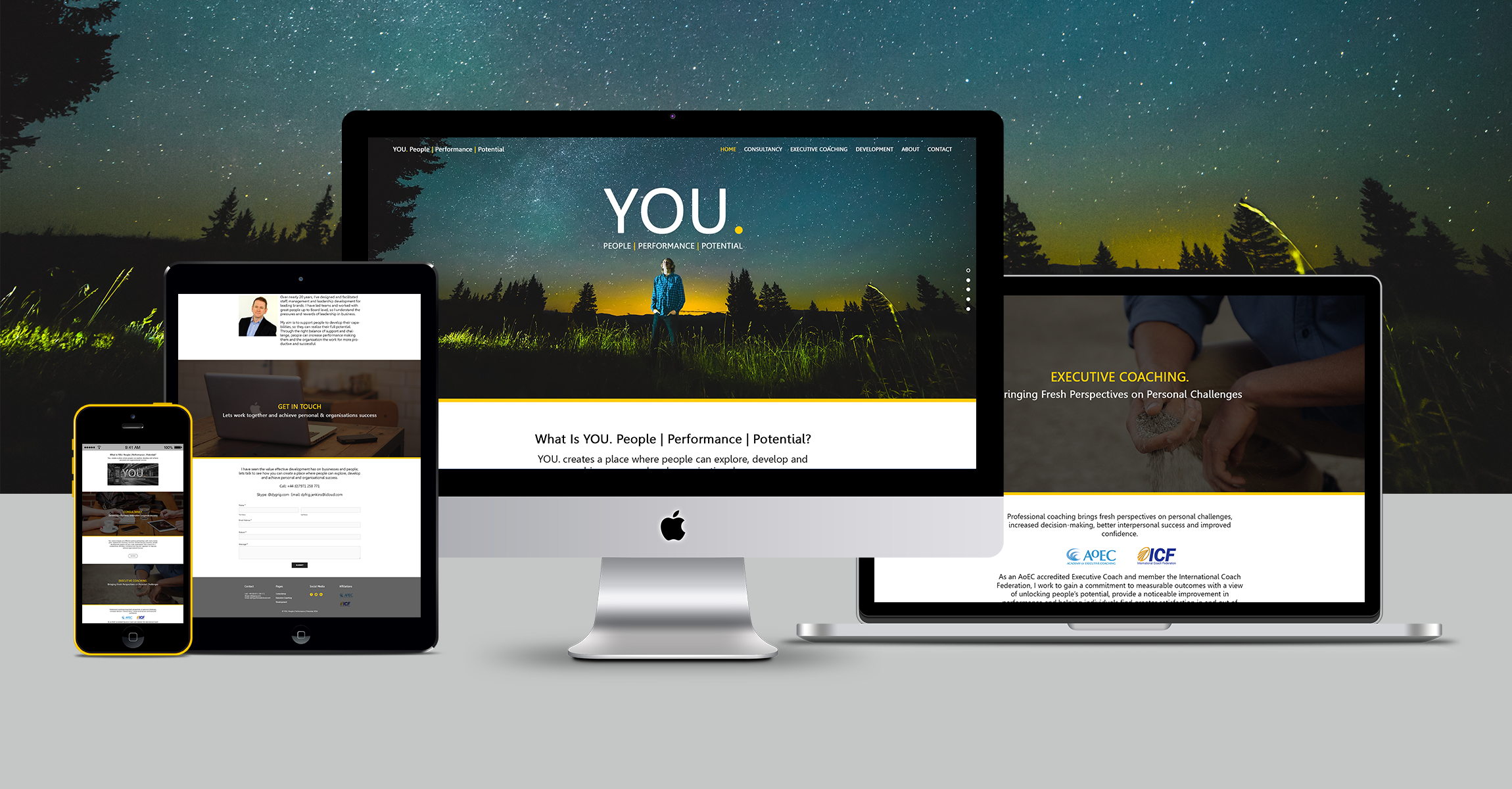 YOU. Development Website
