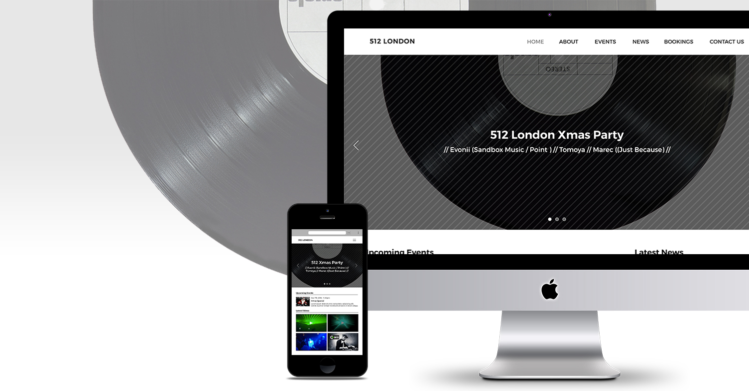 512 London Website