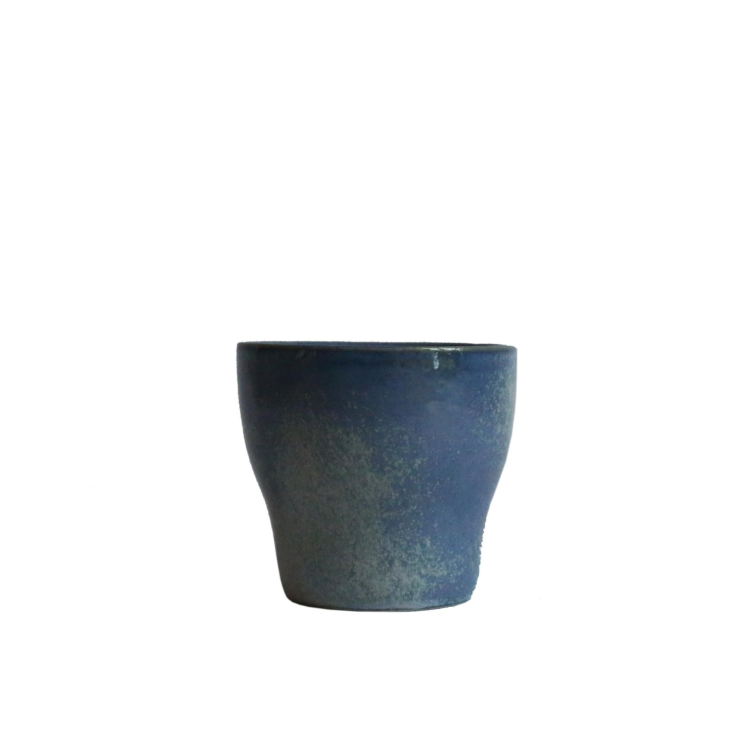 Espresso Cup, Baltic Blue