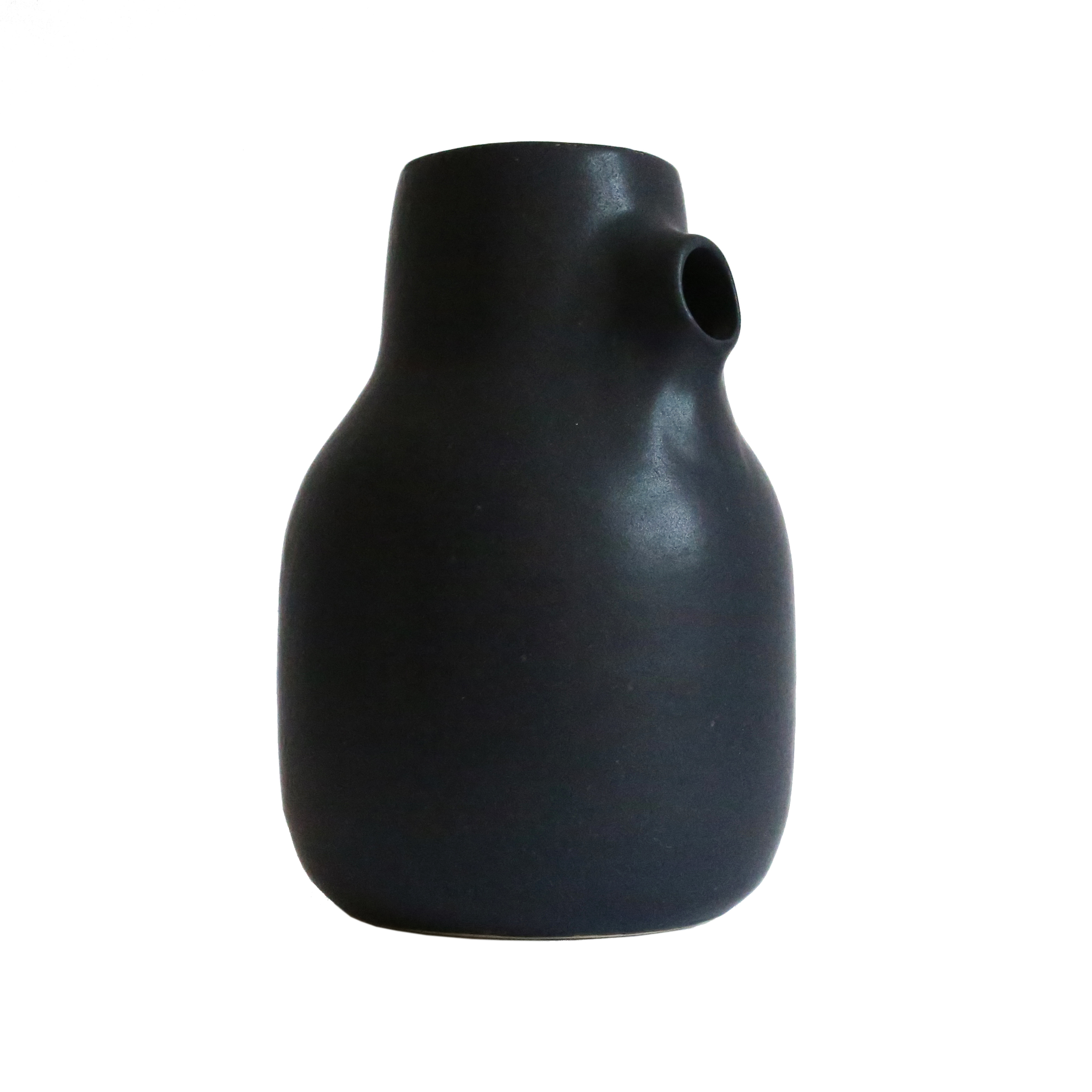 Milk Jug, Oil Black