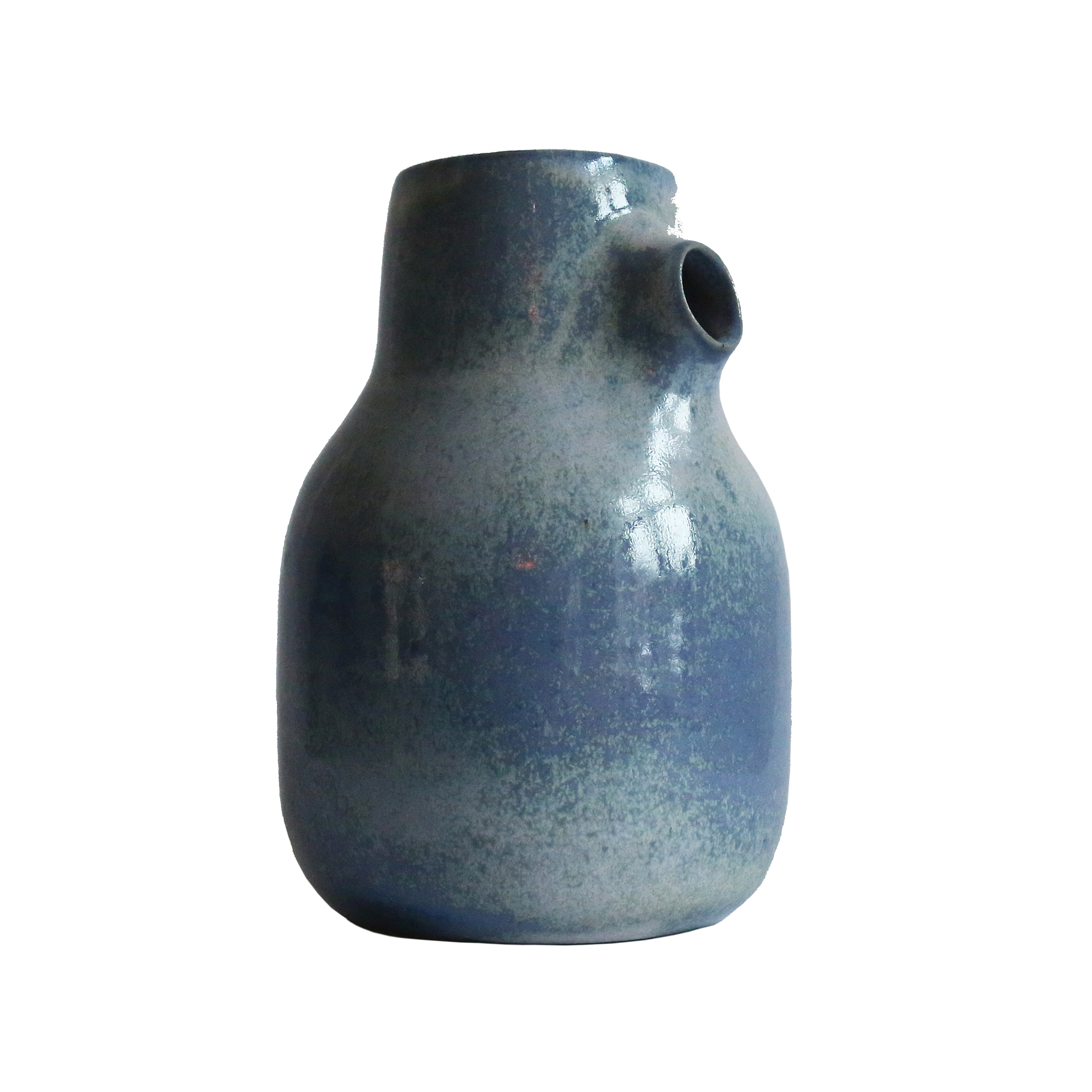 Milk Jug, Baltic Blue