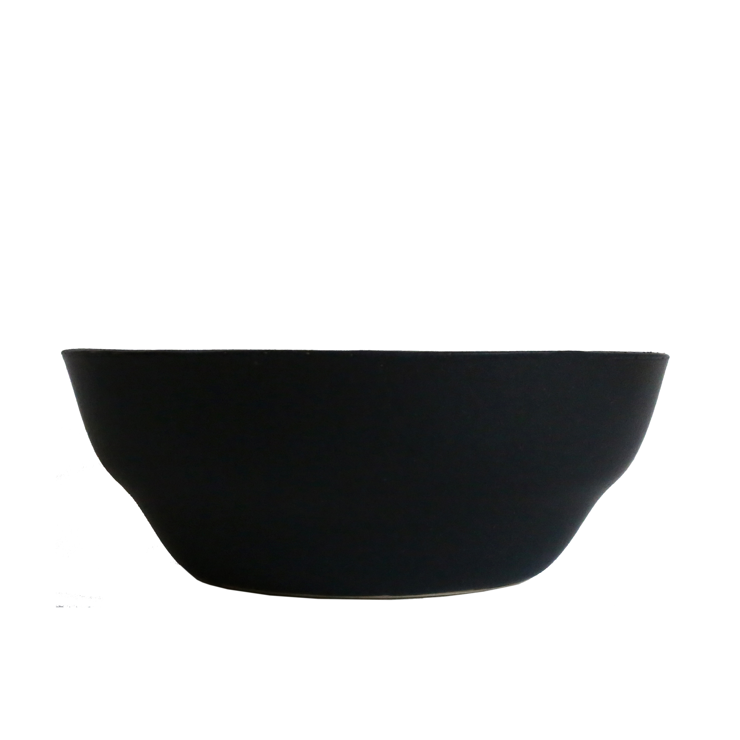 Large Bowl, Oil Black