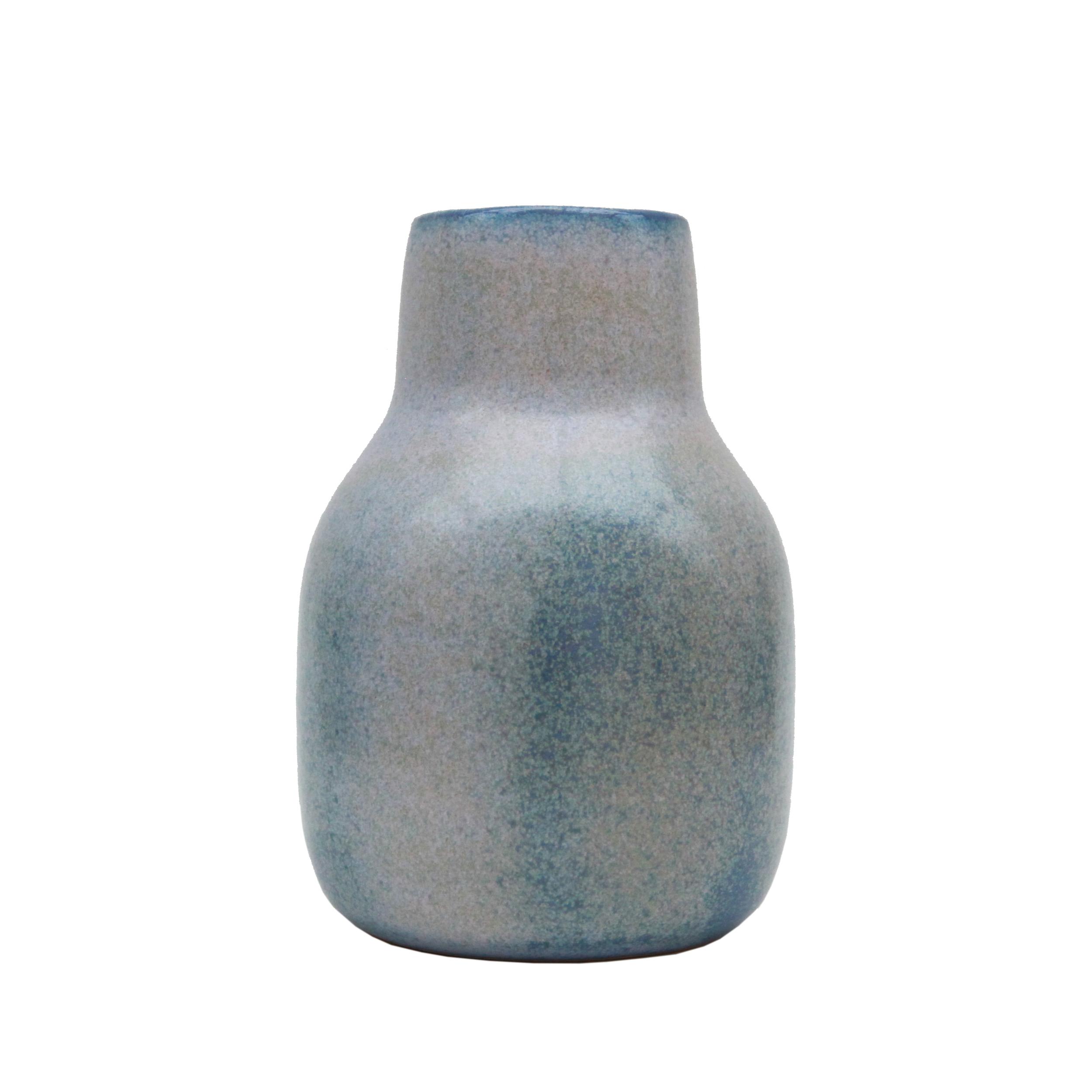 Medium Vase, Baltic Blue