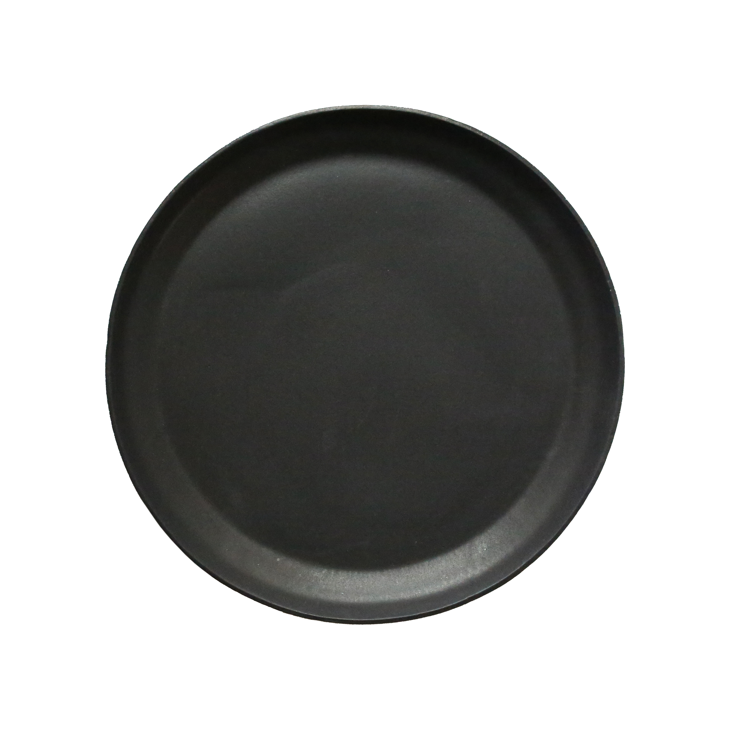 Serving Plate, Oil Black