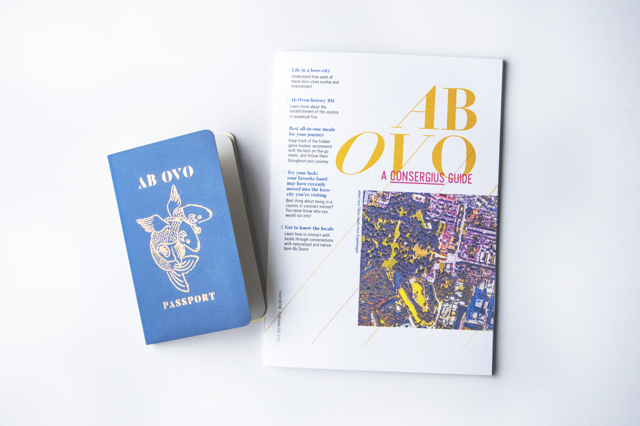 Passport of Ab Ovo, a country of the future; Travel guide for tourists who want to visit Ab Ovo.