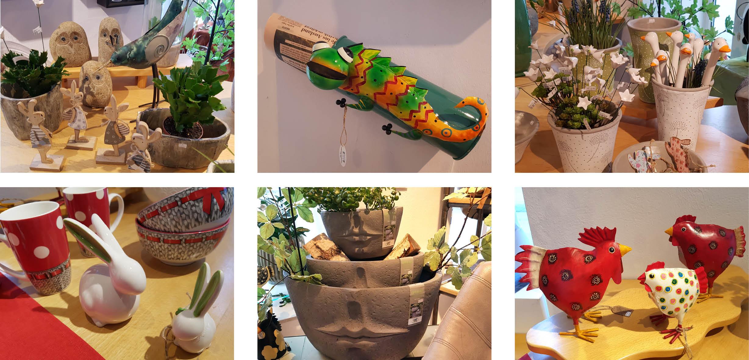 Pflanzgefäße, Gartenstecker, Zeitungsrollen, außergewöhnliche Mistkübel uvm....