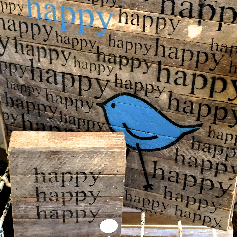 What bird aficionado wouldn't love this happy little guy?