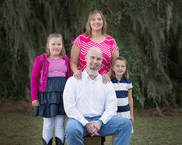 An example of David M. Shipper Photography's family portrait photography on location in Beaufort, SC.
