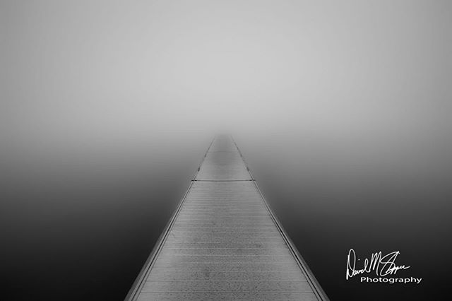 """""""Vanishing Point""""  Landscapes shrouded in heavy fog have a certain sense of mystery especially on or near the water. #fog #love #inspire #photogrid #photos #instagood #photooftheday #beautiful #happy #followme #picoftheday #instadaily #nature #amazing #photography #photo #awesomeearth #amazingcaptures #instadaily #justgoshoot #in2nature"""