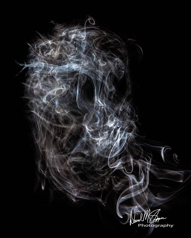 """Something just a little different for this Thursday 😁. I enjoy the creative possibilities of abstract photography & decided to photograph smoke lit by a single speed light.  It's really interesting because you never know what you'll capture.  What did I capture? 👻. """"The Wraith"""" . . . . . . #ghost #wraith #haunted #smoke #light #abstractart #abstractphotography #abstract #imagine #imagination #crazy #cool #photography #different #pic #photooftheday #sony #a7riii  #creative #art #scary #explore"""