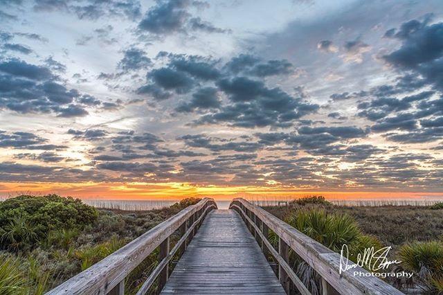 Daybreak this morning at the beach 🏖 on Tybee Island. #tybeeisland #daybreak #beach