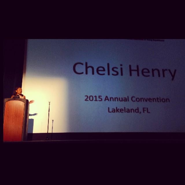 Chelsi Speaking in Lakeland