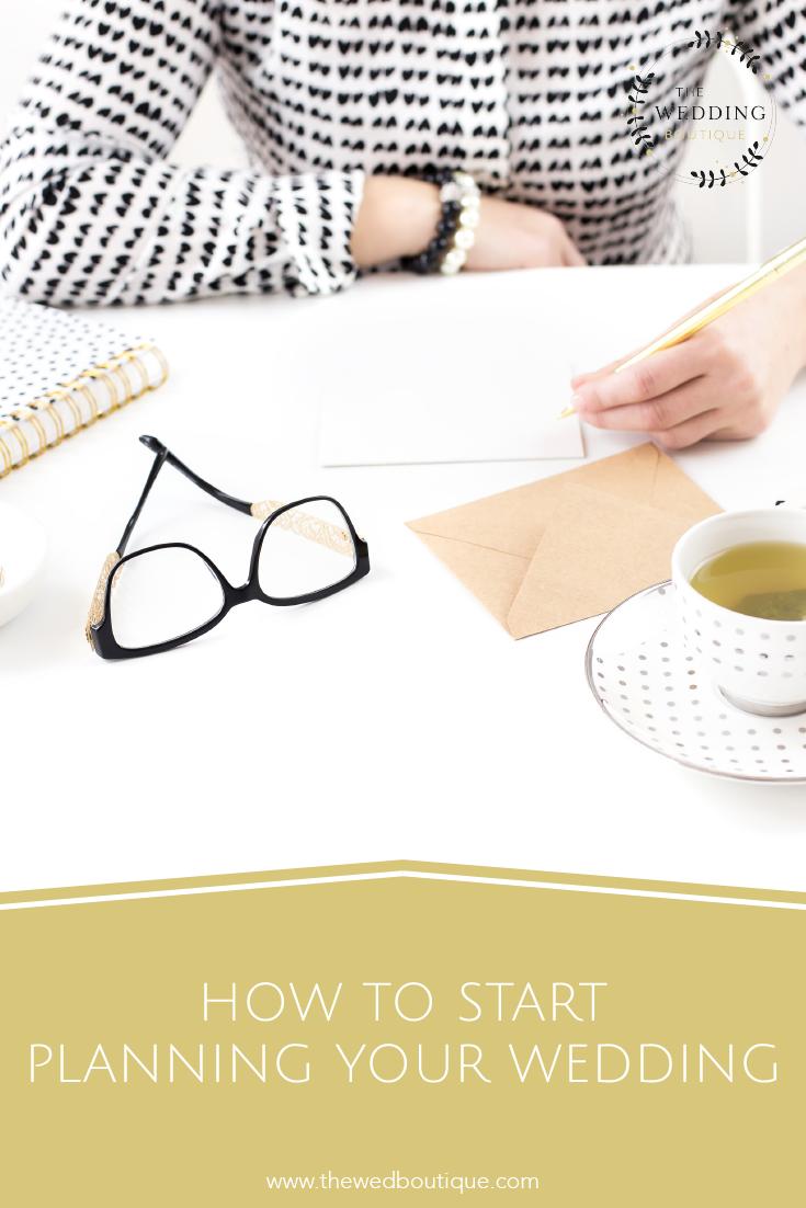 How to start planning your wedding • The Wedding Boutique • Destination Wedding Planner & Designer • www.thewedboutique.com