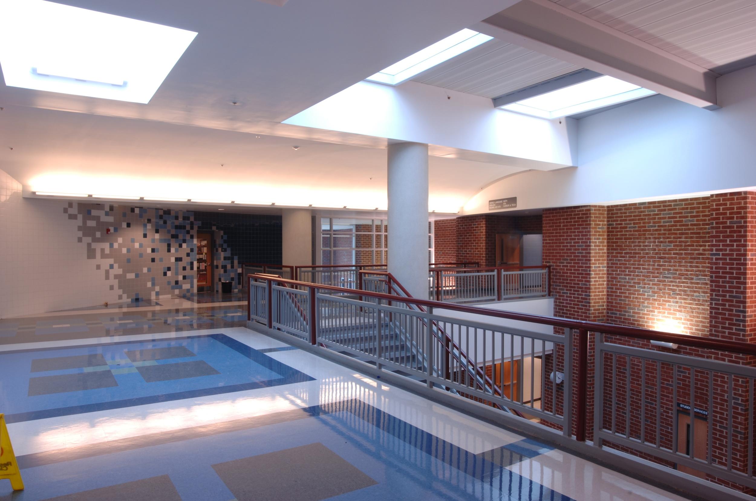 Harrisonburg High School Interior