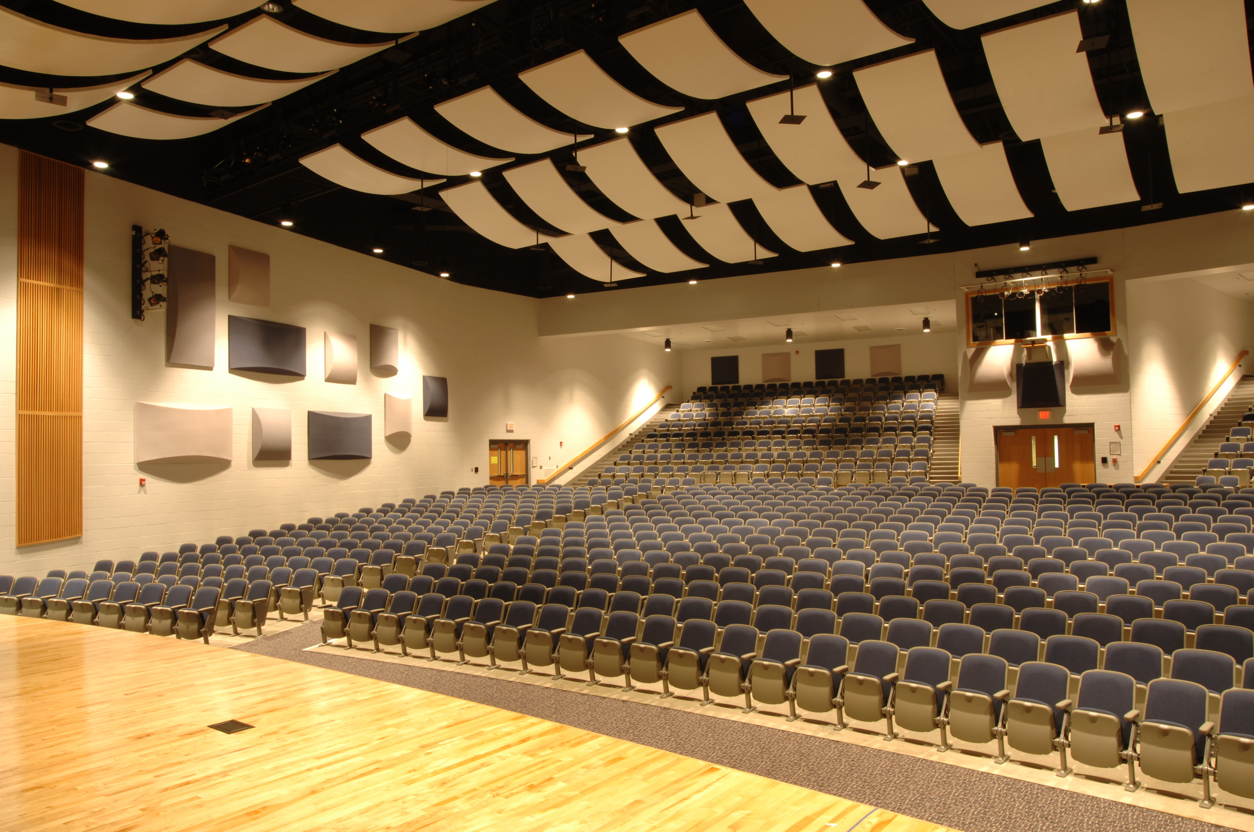 Harrisonburg High School Interior