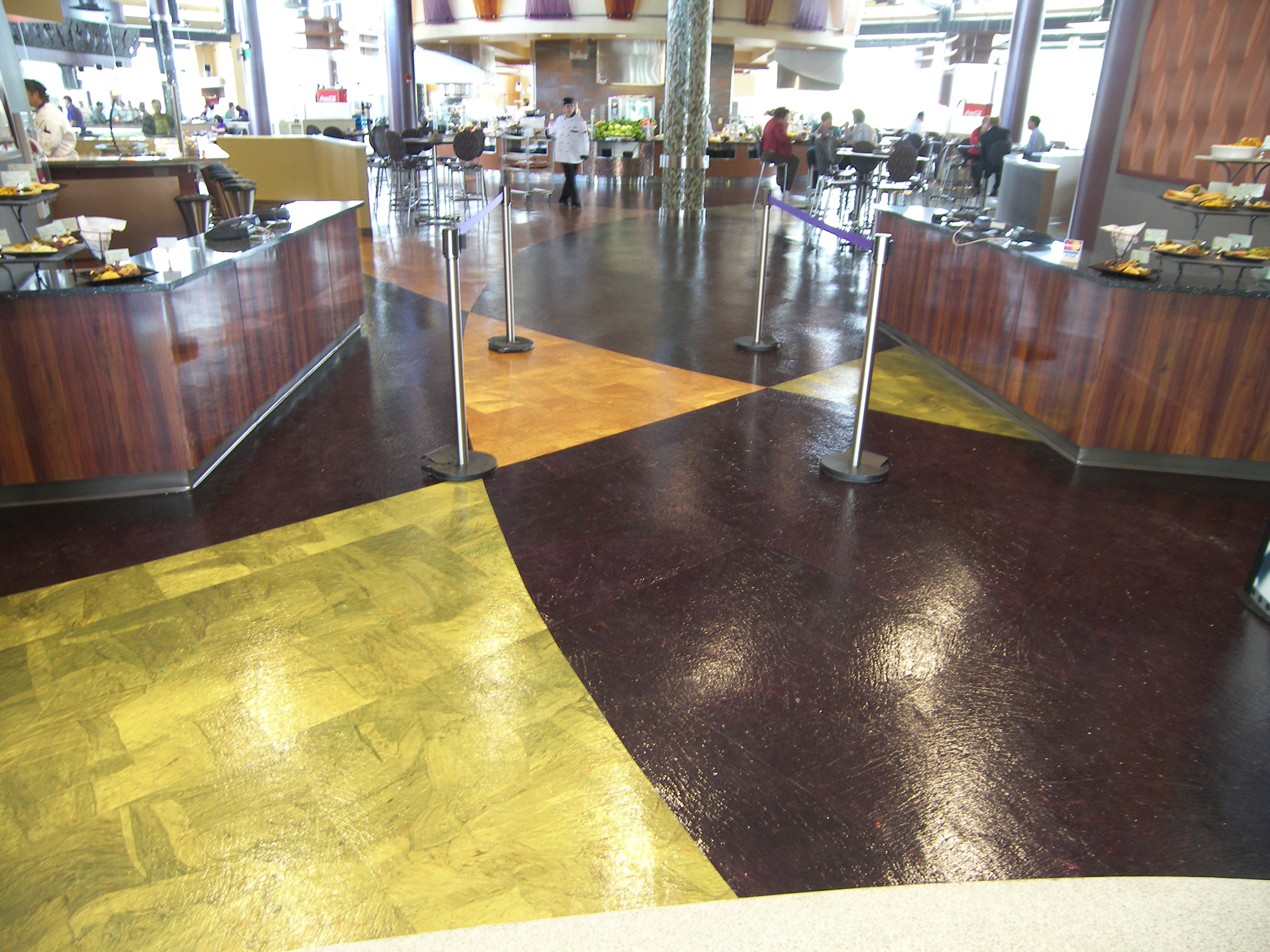 JMU CISAT Library & Dining Hall Interior