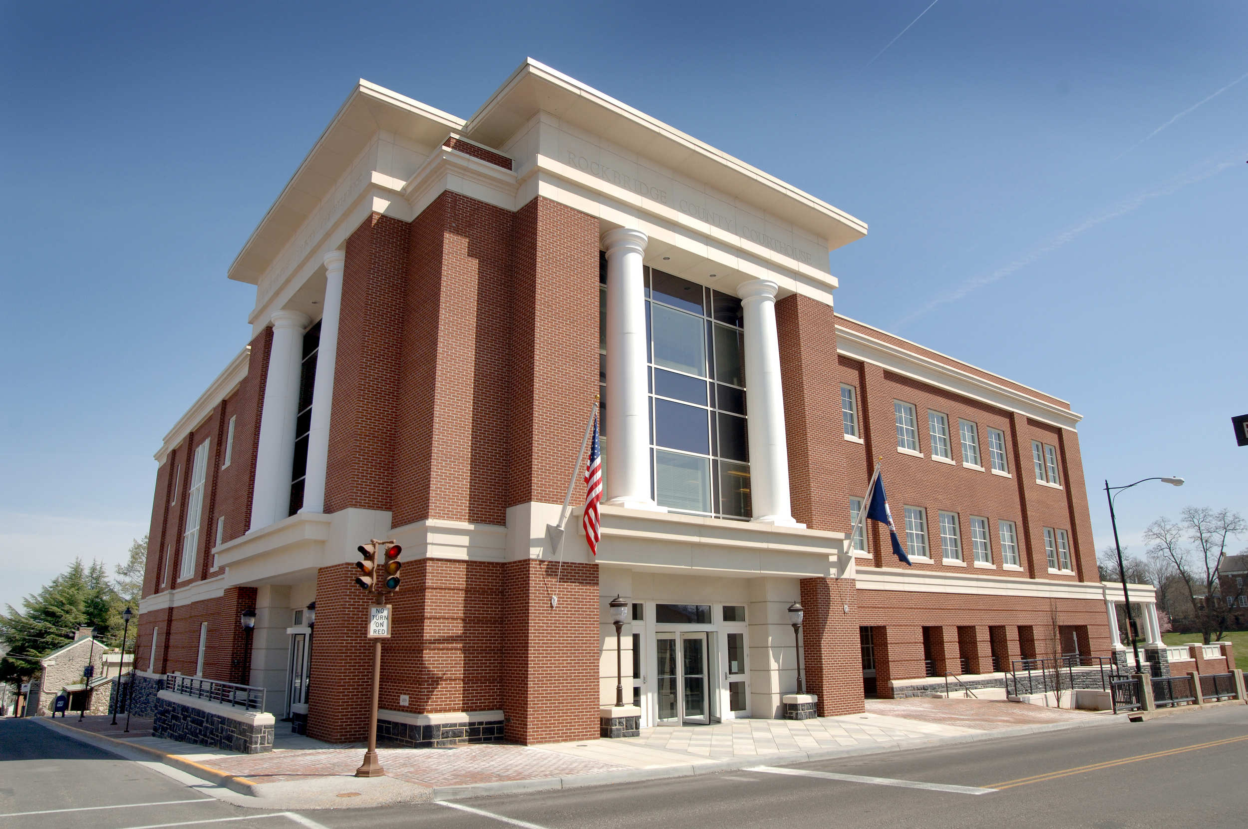 Rockbridge County Courthouse Exterior