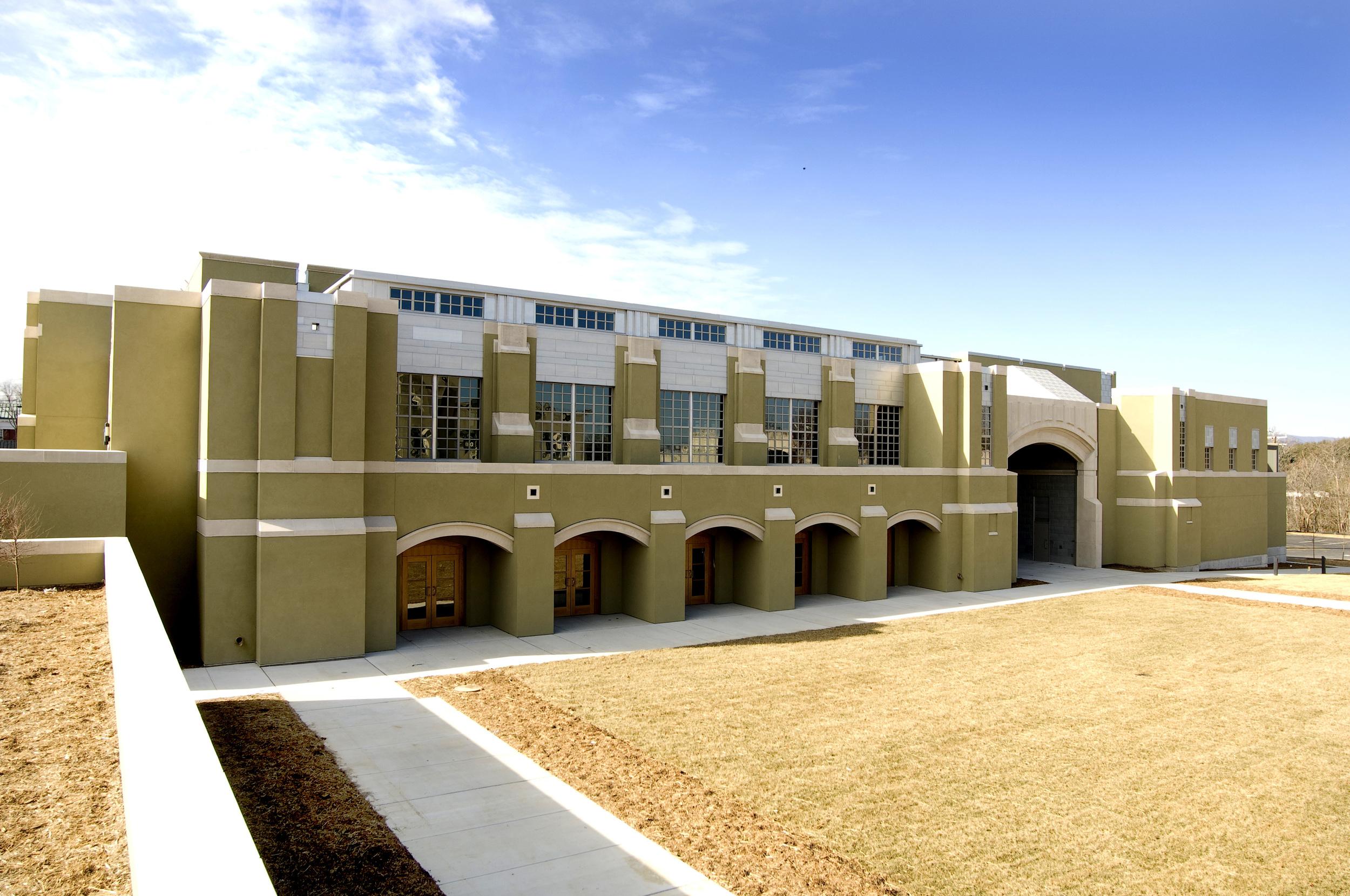 Virginia Military Institute Barracks Exterior