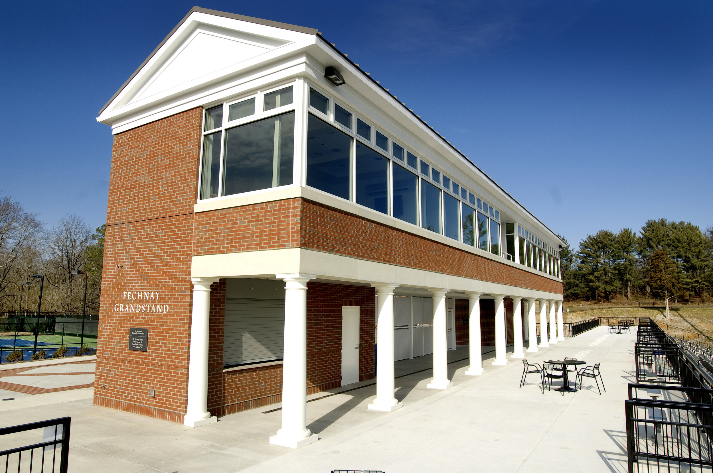 Washington & Lee University Fechnay Grandstand Exterior