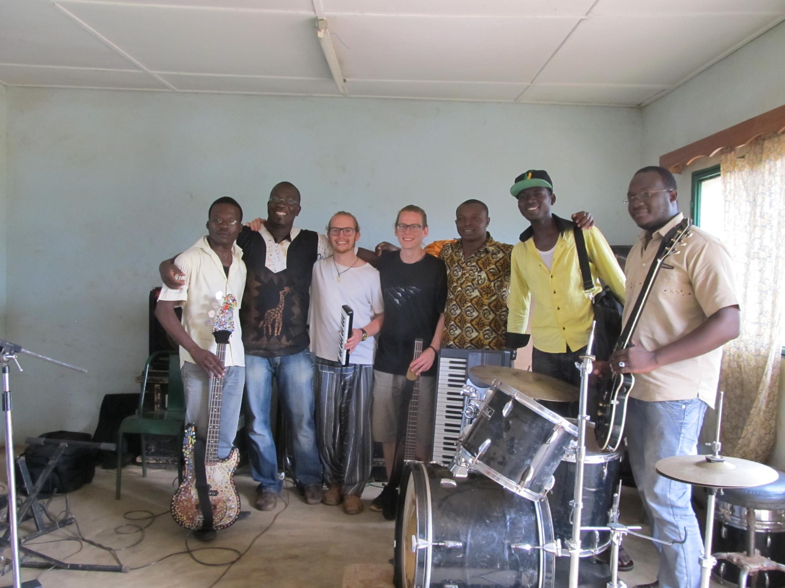 Jam in Ouagadougou