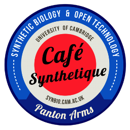 Synthetic Biology meetups   Clearing house for a wide variety of regular open meetings like Cafe Synthetique, Science Makers and the SRI Forums - with a particular focus on building tools and interdisciplinary research.   http://   www.meetup.com/Cambridge-Synthetic-Biology-Meetup
