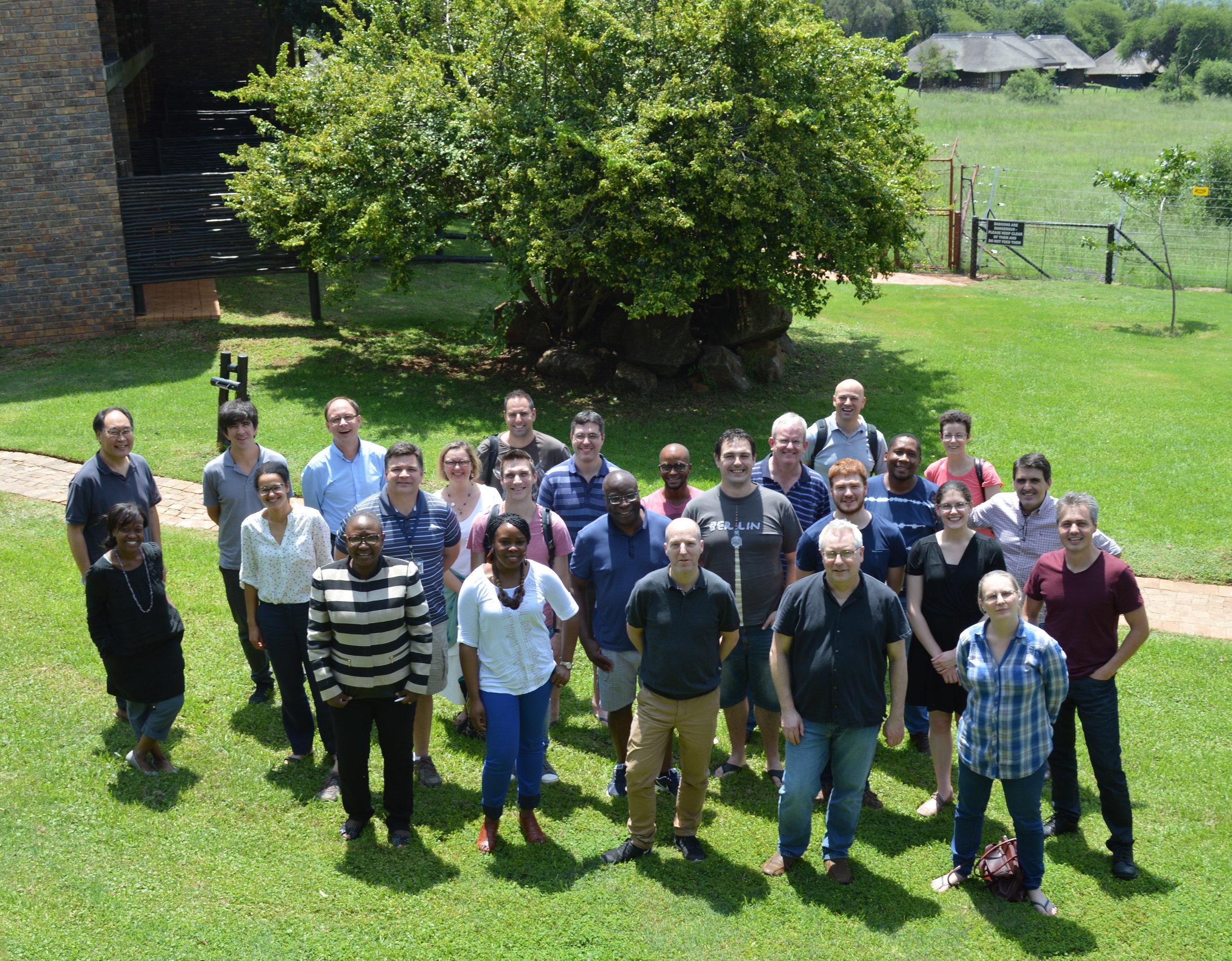Workshop delegates at Bakubung Lodge