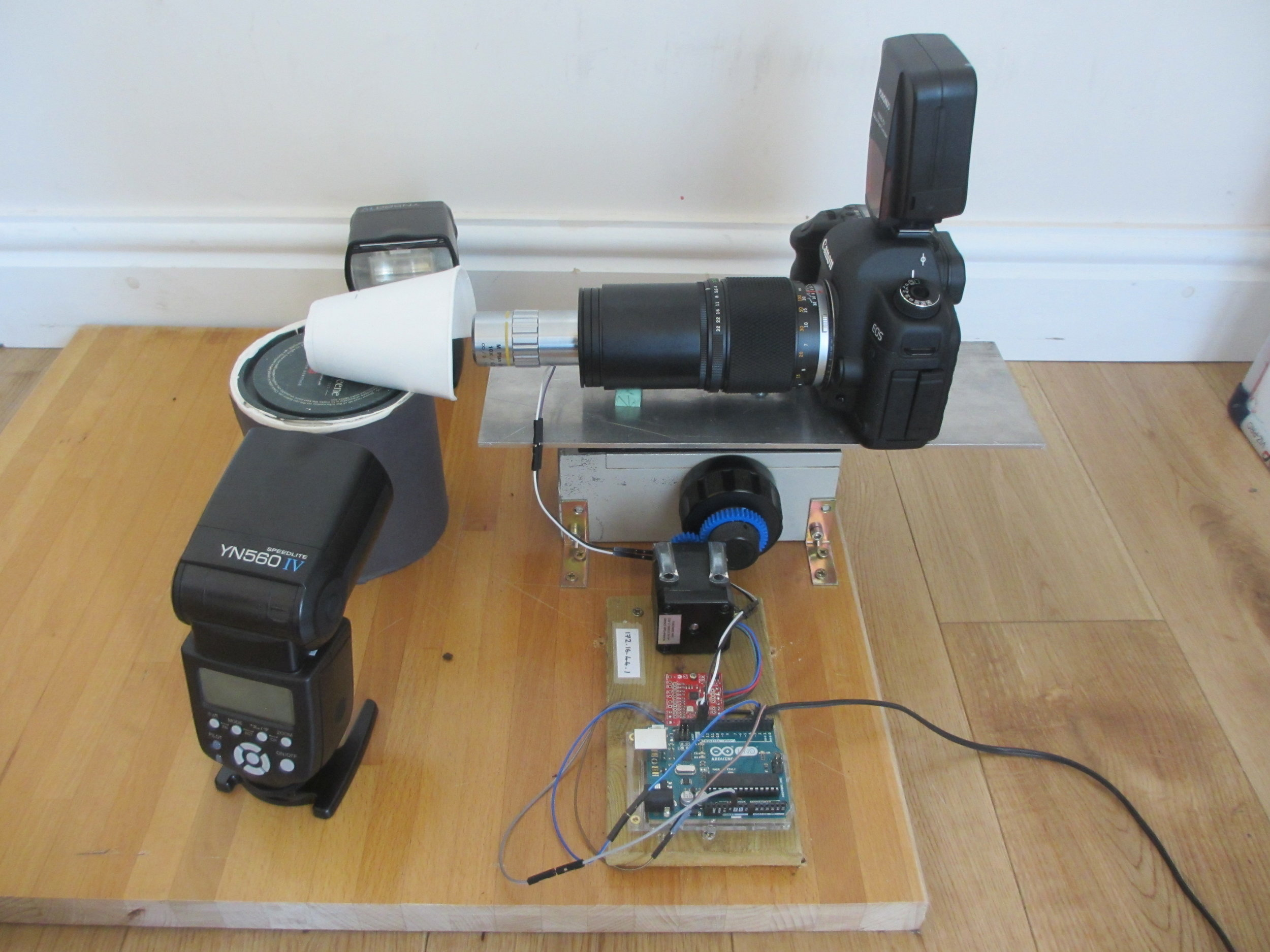 The DIY Focus stacking photography system