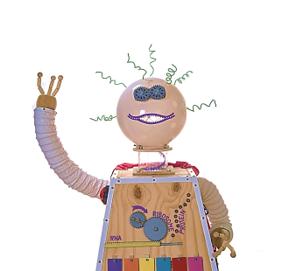 DNA Dave - the DNA transcription and translation robot.