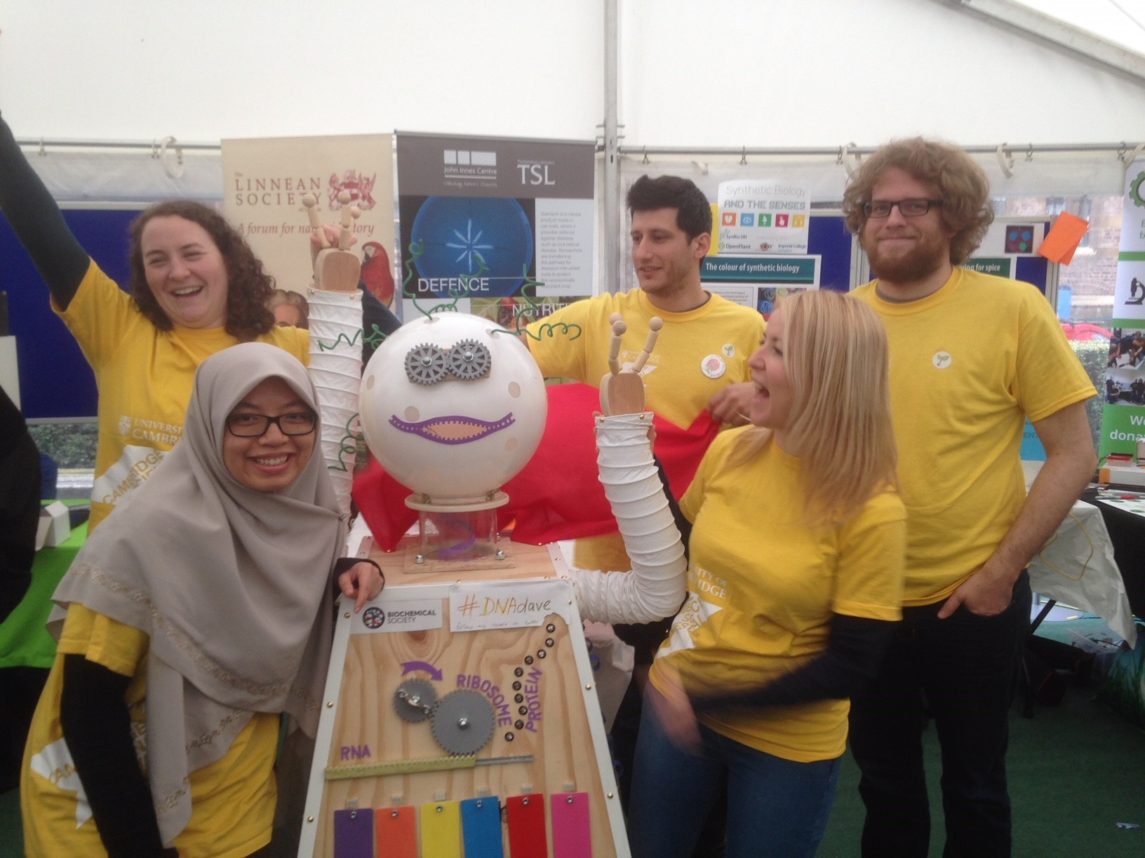 DNA Dave at the Cambridge Science Festival 2017