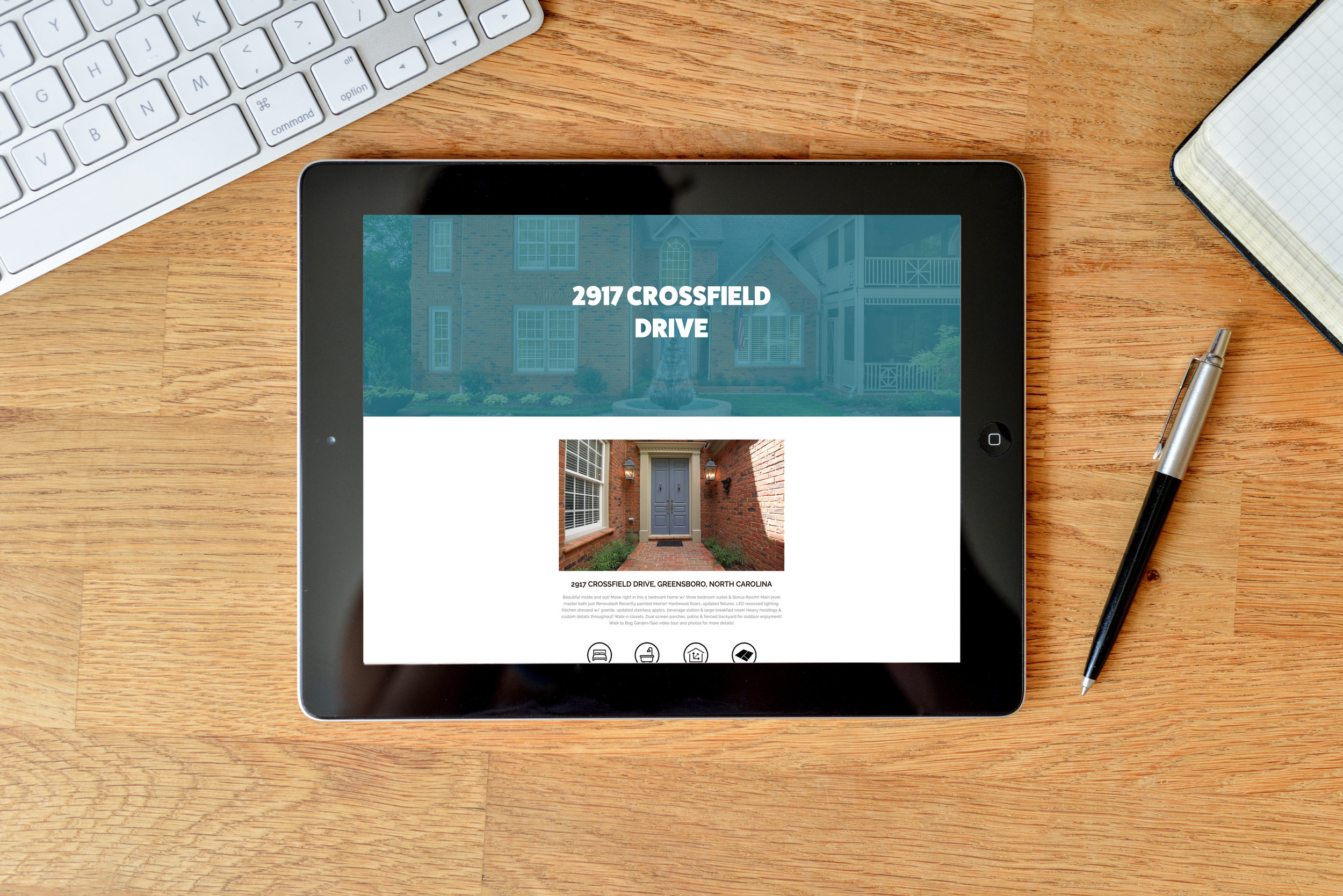 Custom Property Webpage - We will build a custom property page on our site that will display the property description and details, video tour, unlimited images, and Realtor contact information so you can easily share the property with your audience.