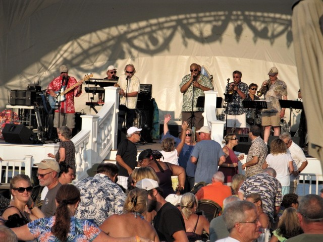The NoWhere Men at Chesapeake Beach Resort & Spa. Photo by TheBayNet.com