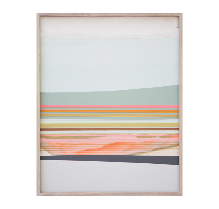 Fields Of Salinas, 2015   Acrylic And Mixed Media On Wood  19x24 inches // SOLD
