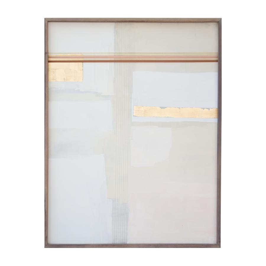 Samira's Wedding Blanket, 2015   Acrylic And Mixed Media On Wood  24x32 inches