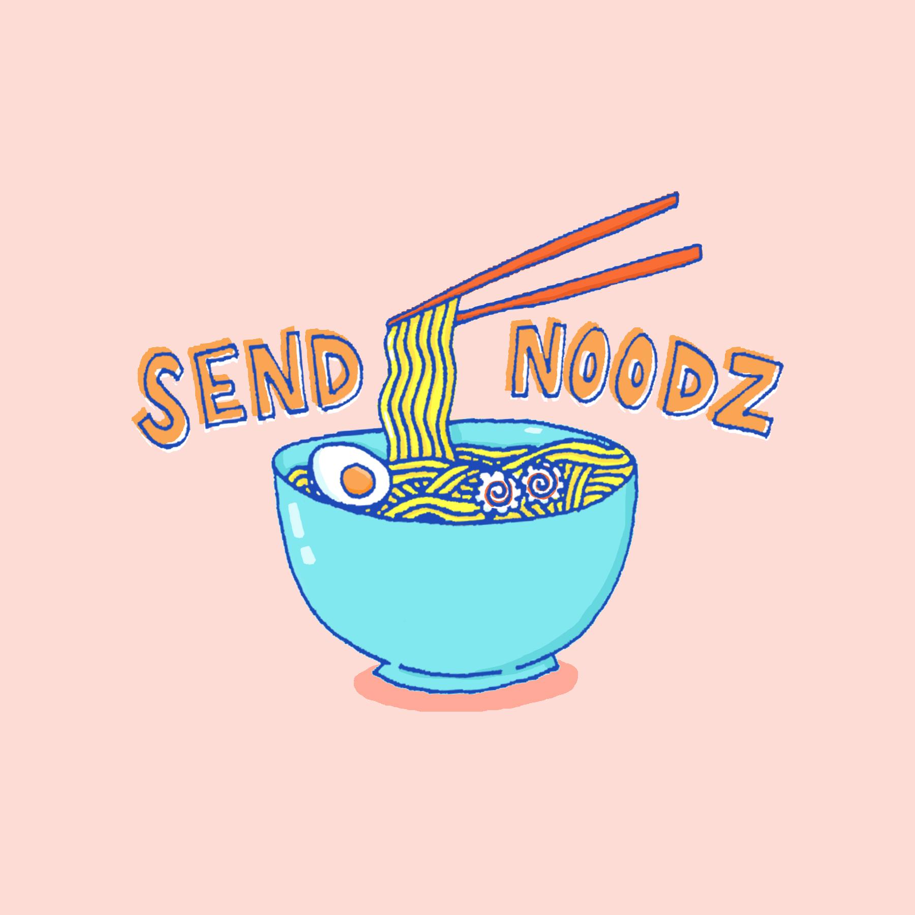Send Noodz sticker for  Souped Up Slang Sticker Pack