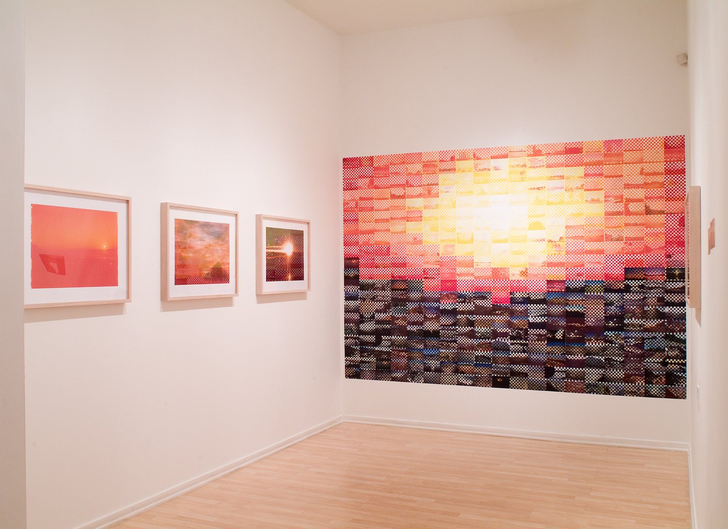 Installation view, Minnesota Center for Photography, 2007
