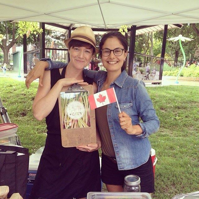Lisa Sweetman (left) and Cassandra Rizzotto (right), owners of Earth and City.