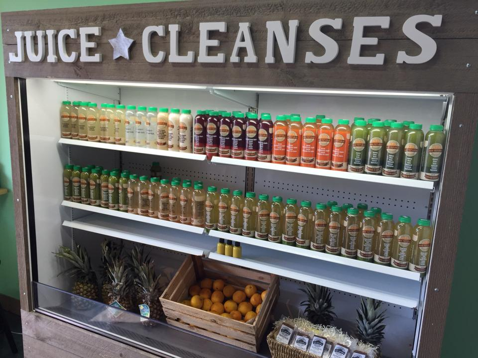 Raw Republic's organic juice cleanses are customizable in that the length of the cleanse is tailored to the customer's preference.  Photo courtesy of Raw Republic.